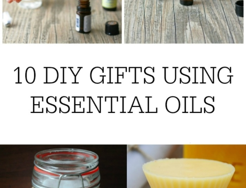 10 DIY gifts made with essential oils
