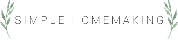 Simple Homemaking Logo