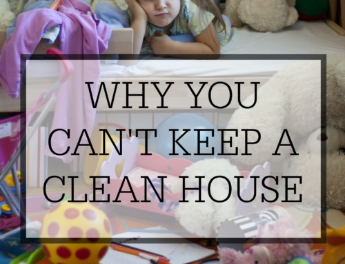 Why you can't keep a clean house