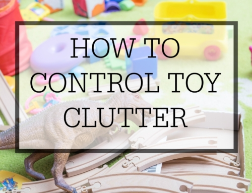 How to control toy clutter