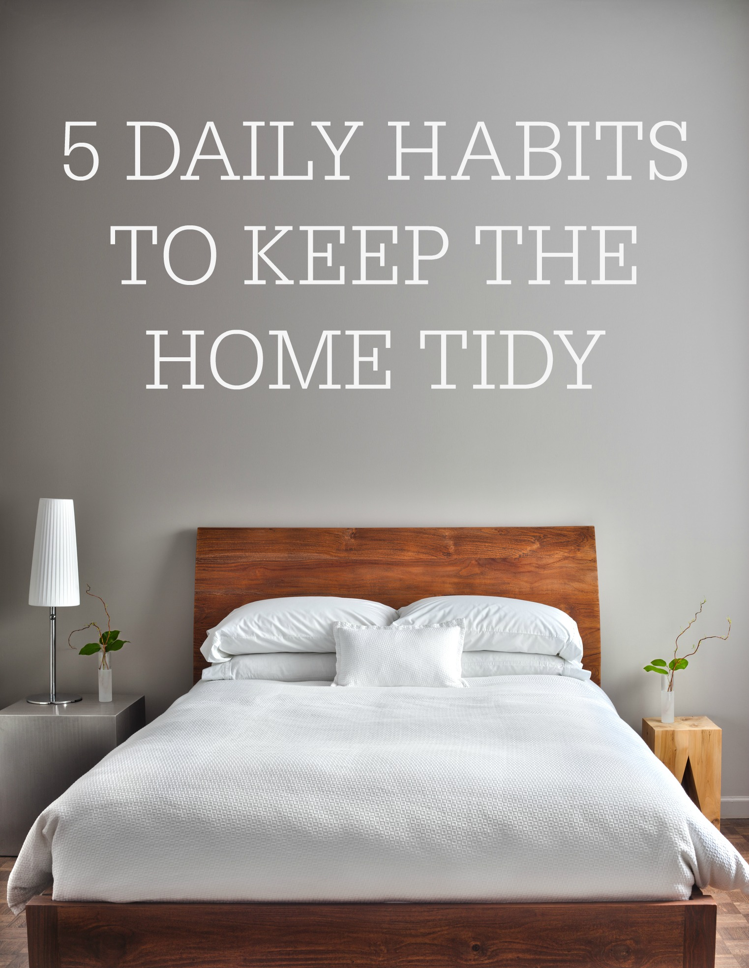 View Larger Image 5 daily habits to