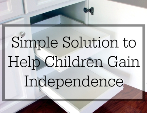 A simple solution to help children gain independence