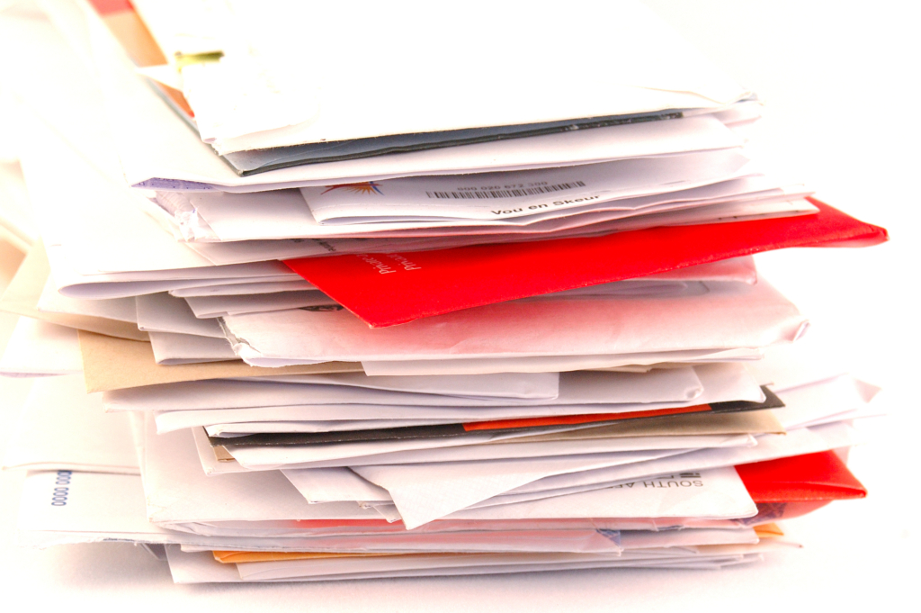 Say goodbye to junk mail and paper clutter!